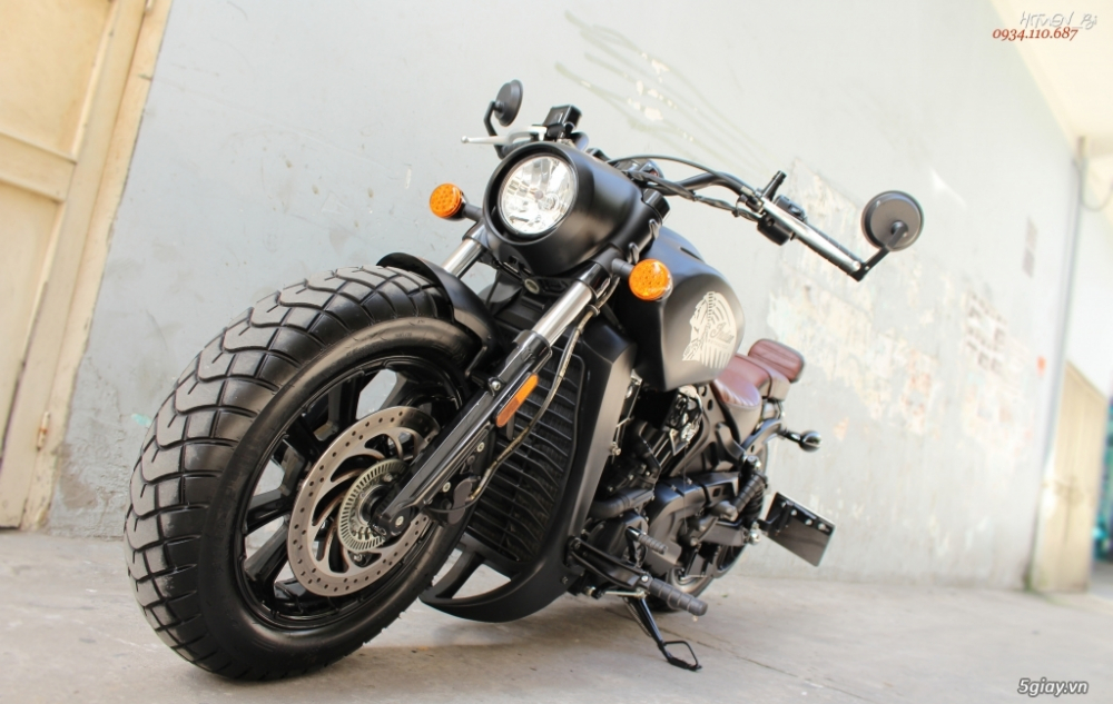 ___ Can Ban ___INDIAN Scout BOBBER 1200 ABS 2018___ - 5