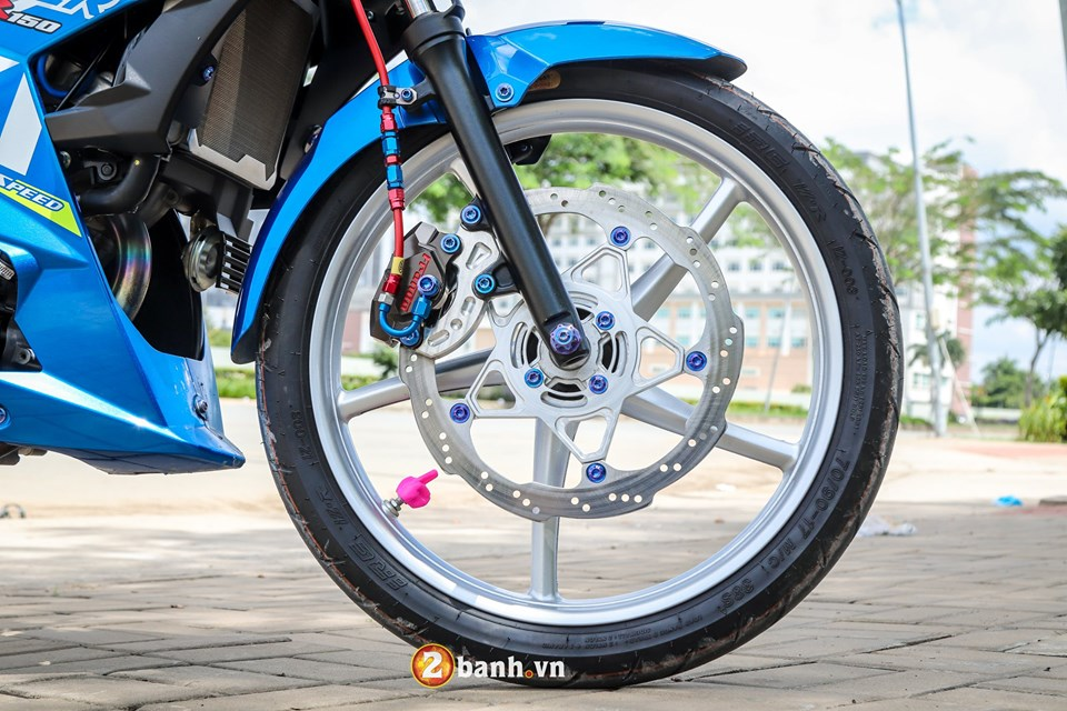Dung hinh voi Raider 150 do chat den ngat trong tung chi tiet - 12