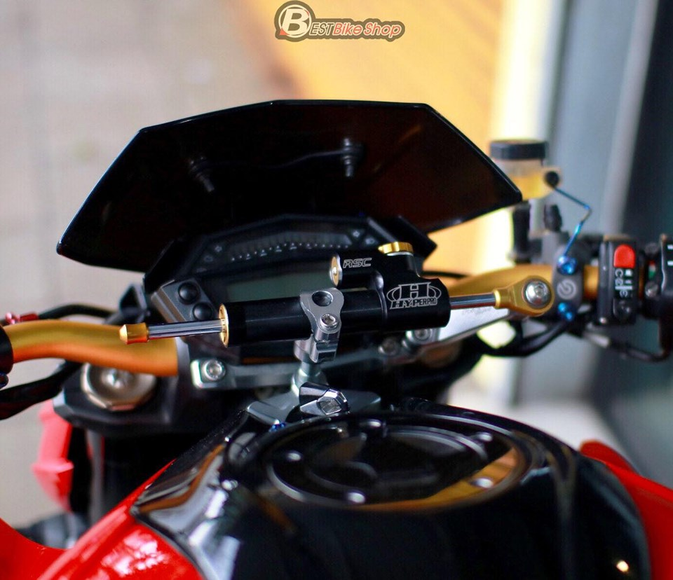 Kawasaki Z1000 do an tuong voi phong cach Do Sporty - 4