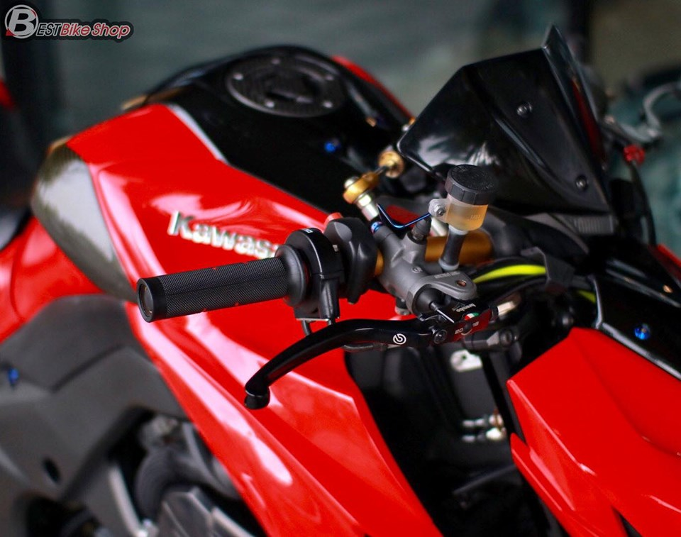 Kawasaki Z1000 do an tuong voi phong cach Do Sporty - 6