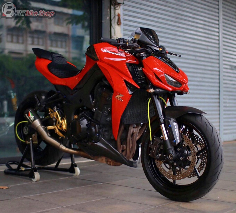 Kawasaki Z1000 do an tuong voi phong cach Do Sporty - 14