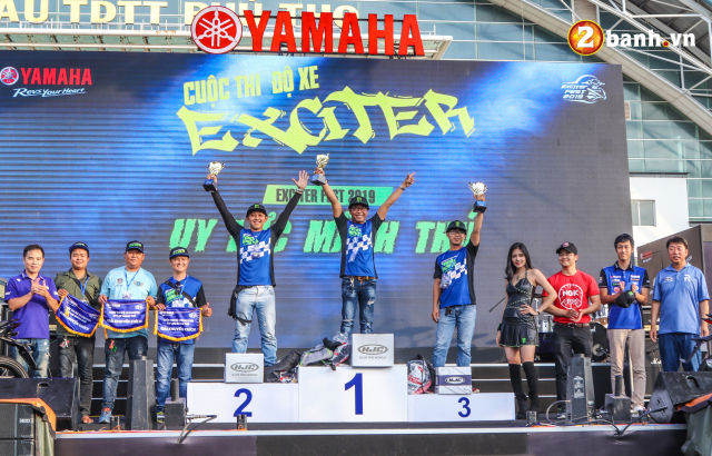 Lo dien chu nhan may man nhan duoc YZFR3 trong cuoc thi do xe Exciter Fest 2019 - 2