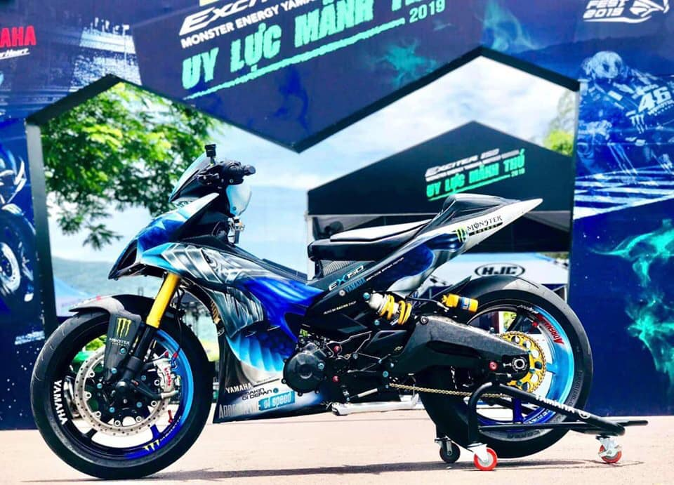 Lo dien chu nhan may man nhan duoc YZFR3 trong cuoc thi do xe Exciter Fest 2019 - 7