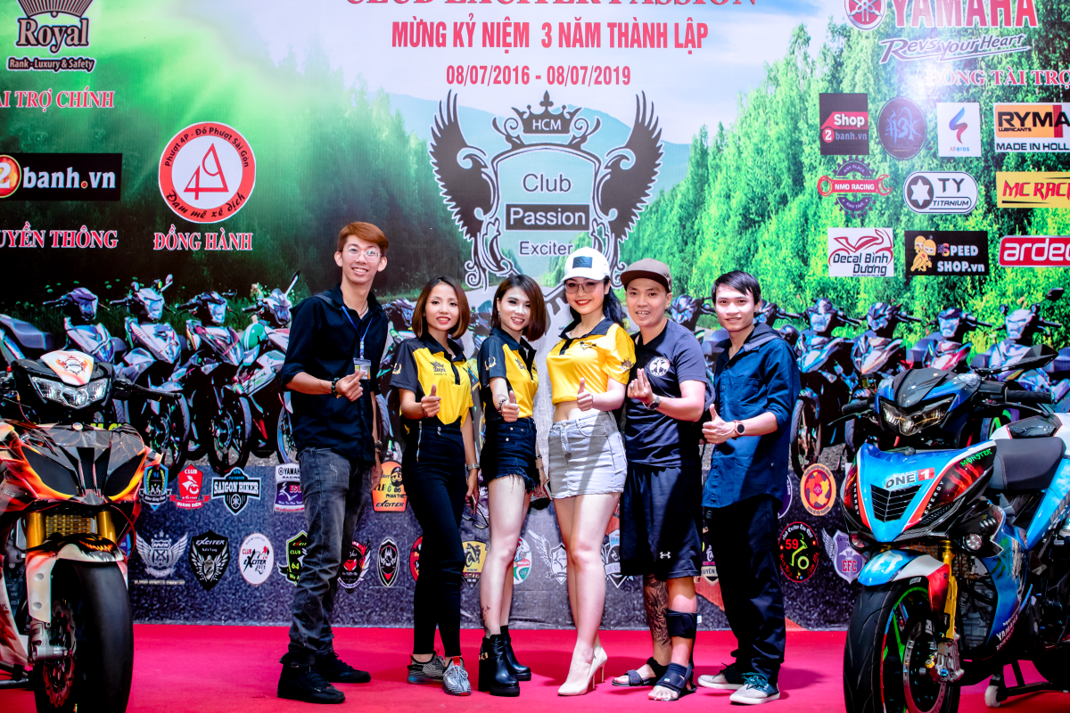 Club Exciter Passion 3 nam mot chang duong voi dong xe Yamaha Exciter - 9