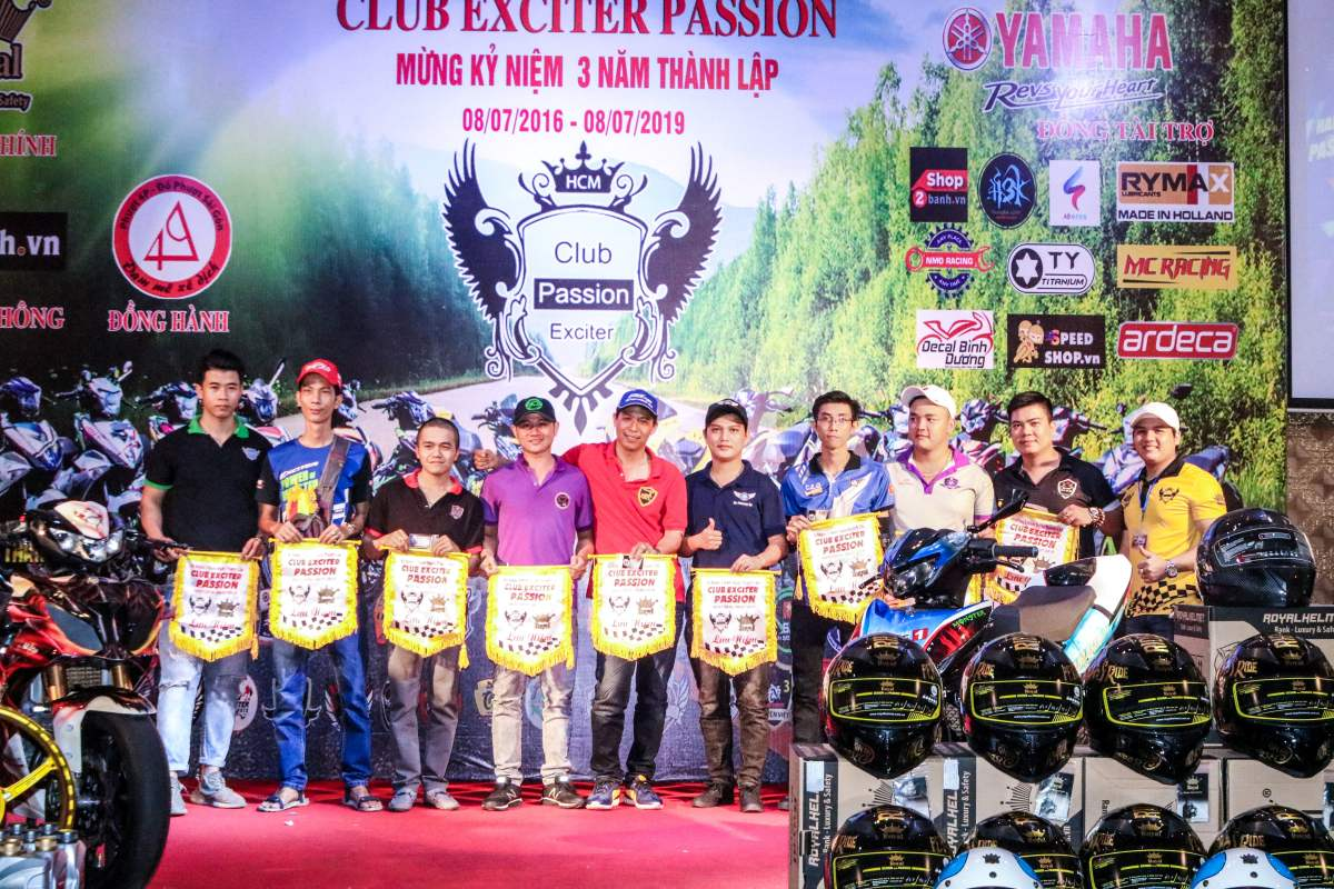 Club Exciter Passion 3 nam mot chang duong voi dong xe Yamaha Exciter - 20
