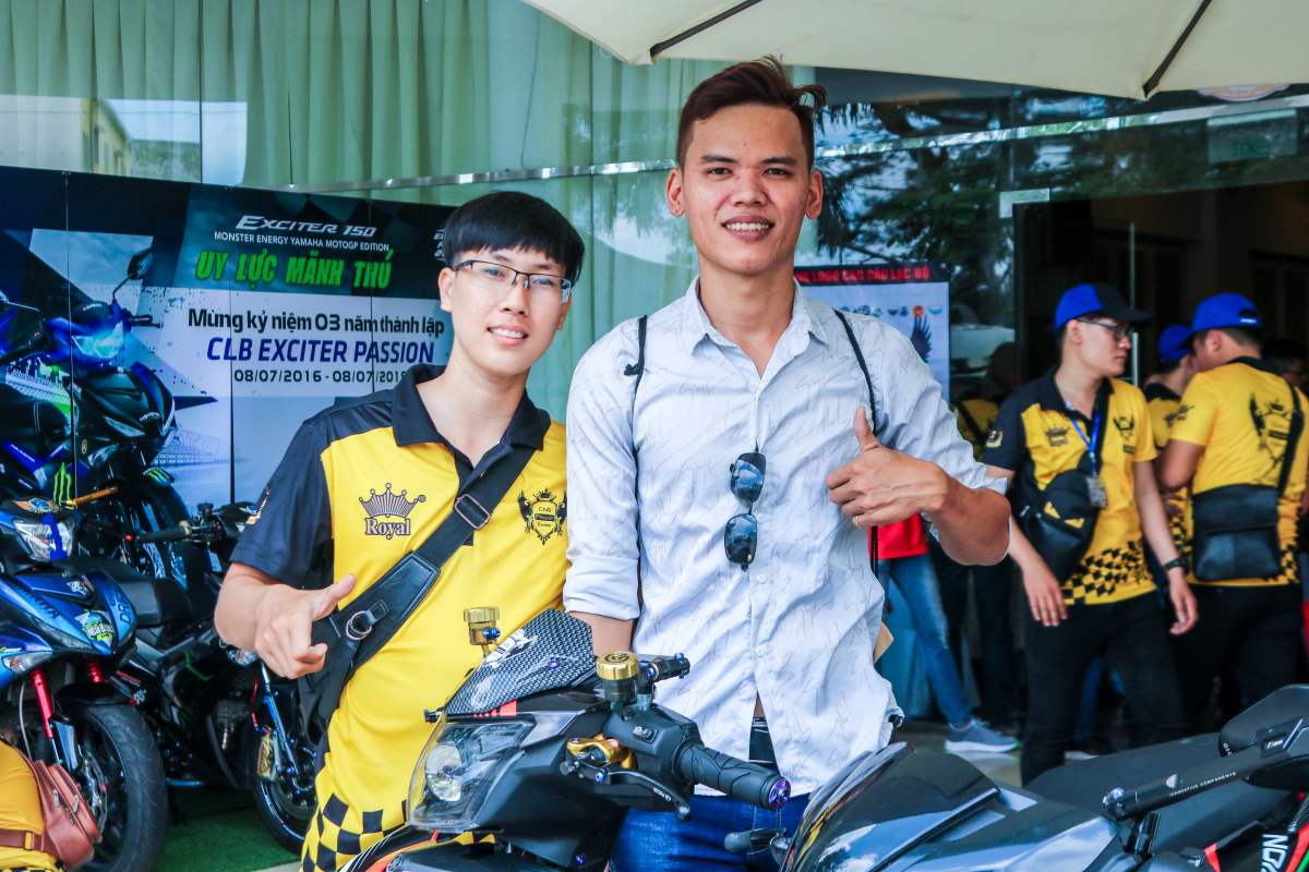 Club Exciter Passion 3 nam mot chang duong voi dong xe Yamaha Exciter - 12
