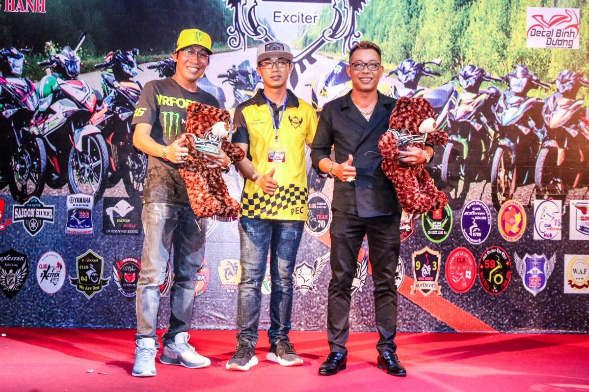 Club Exciter Passion 3 nam mot chang duong voi dong xe Yamaha Exciter - 19