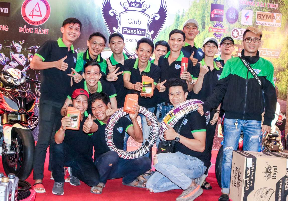 Club Exciter Passion 3 nam mot chang duong voi dong xe Yamaha Exciter - 42