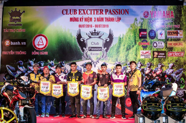Club Exciter Passion 3 nam mot chang duong voi dong xe Yamaha Exciter - 21