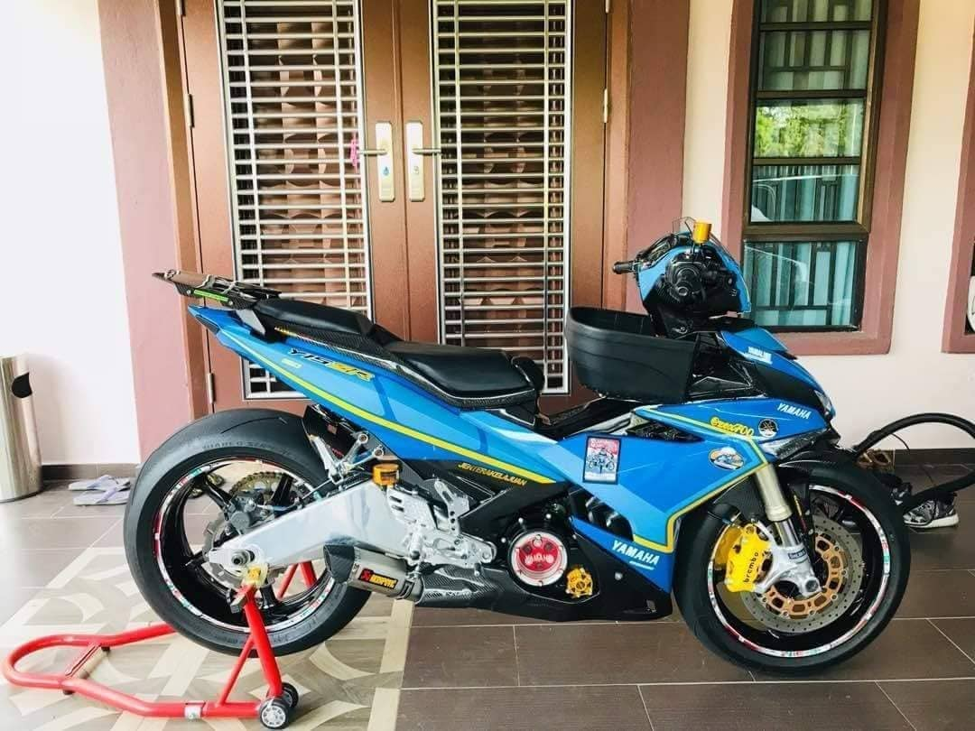 Exciter 150 do ac chien voi dan chan PKL so huu cap heo Brembo M4 kich doc - 3
