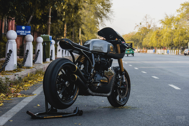 Royal Enfield Continental GT 650 do an tuong voi phong cach Cafe Racer manh me - 3