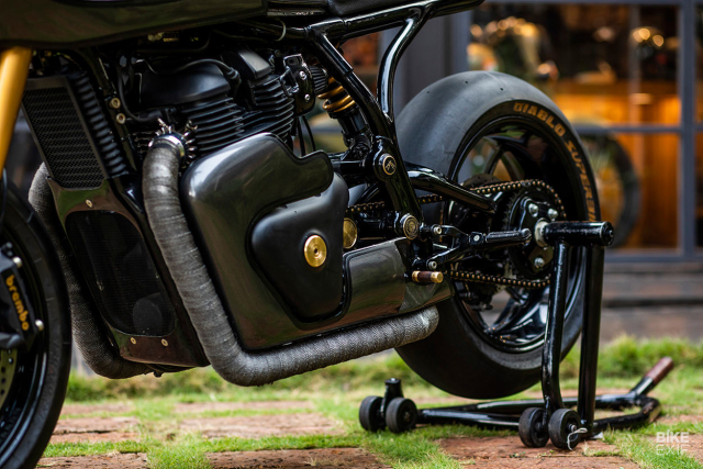 Royal Enfield Continental GT 650 do an tuong voi phong cach Cafe Racer manh me - 6