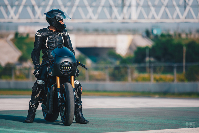 Royal Enfield Continental GT 650 do an tuong voi phong cach Cafe Racer manh me - 11