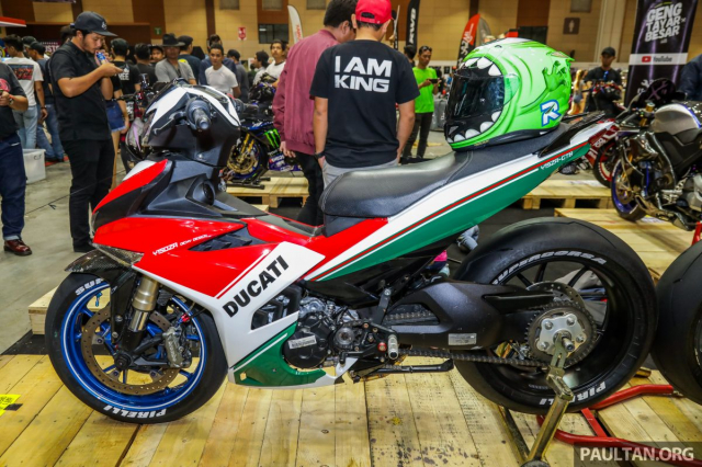 Exciter 150 lot xac sieu doc voi phong cach Ducati Panigale Final Edition - 3