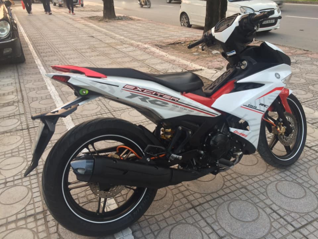 Exciter 150 cc Fi mau do trang bien Ha Noi 5 so can ban - 8