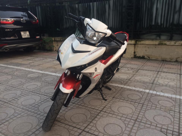 Exciter 150 cc Fi mau do trang bien Ha Noi 5 so can ban - 4