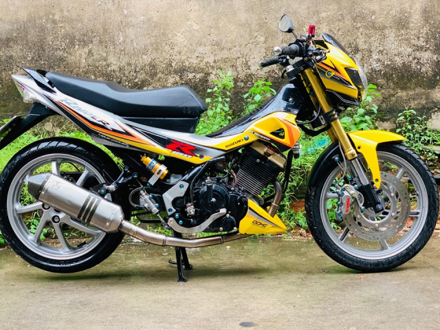 Review Suzuki Satria Raider Fu don khung - 4