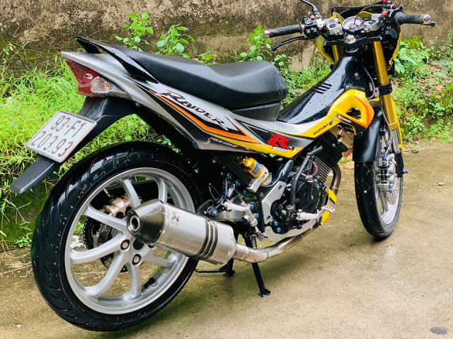 Review Suzuki Satria Raider Fu don khung - 2