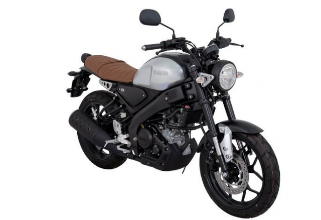 Yamaha XSR 155 2019 lo dien voi phong cach co dien co gia 68 trieu dong - 2