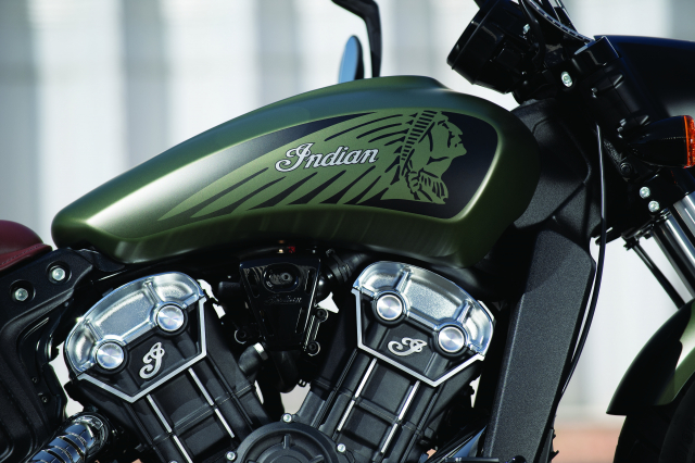 Indian tiet lo Scout Bobber Twenty va Scout 100th Anniversary moi voi ngoai hinh hoan hao - 5