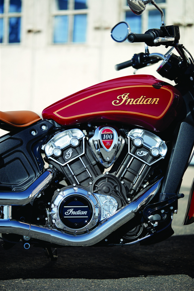 Indian tiet lo Scout Bobber Twenty va Scout 100th Anniversary moi voi ngoai hinh hoan hao - 10