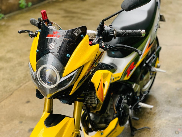 Review Suzuki Satria Raider Fu don khung - 3