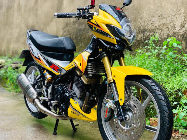 Review Suzuki Satria Raider Fu don khung - 8