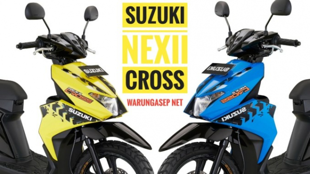 Suzuki NEX II Cross 2020 bien the moi cuc dep co gia chi tu 248 trieu dong
