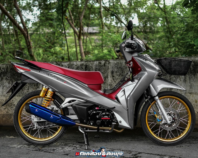 Wave 125 2019 ban do mang dap chat choi cua biker ThaiLand - 12