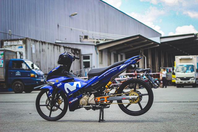 Exciter 150 don so so day gon gang voi phong cach KingDrag - 4