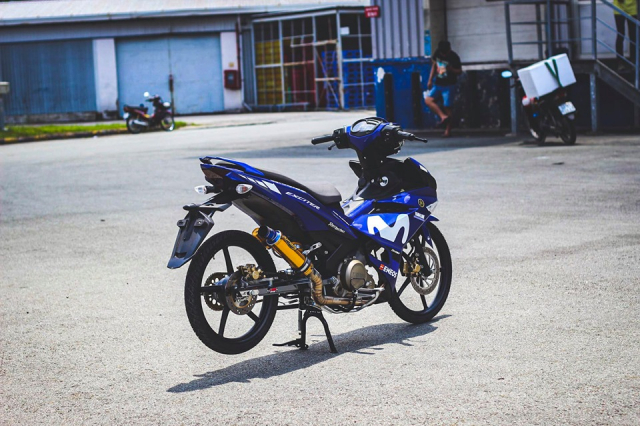 Exciter 150 don so so day gon gang voi phong cach KingDrag - 8