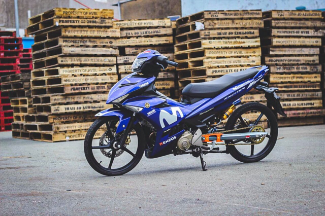 Exciter 150 don so so day gon gang voi phong cach KingDrag - 5