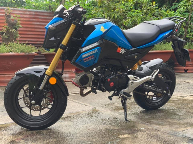 MSX 125 do cuc chat voi dau long 4 valve tai Ba RiaVung Tau - 6