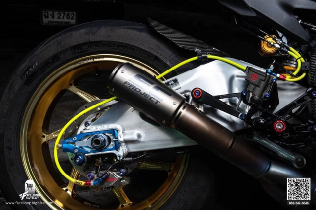 Yamaha R1M do an tuong voi ban dung full option - 9