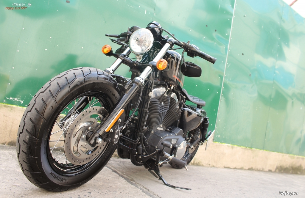 ___ Can Ban ___HARLEY DAVIDSON Forty Eight 1200cc ABS HELLCAT 2016 Keyless___ - 6