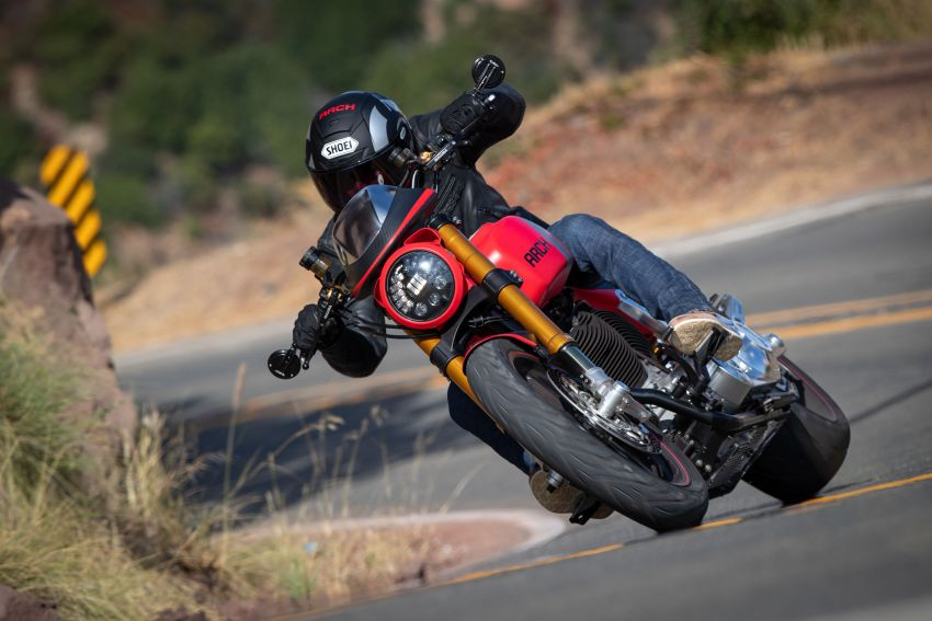 Ra mat Arch Motorcycle KRGT1 2020 voi gia gan 2 ty VND