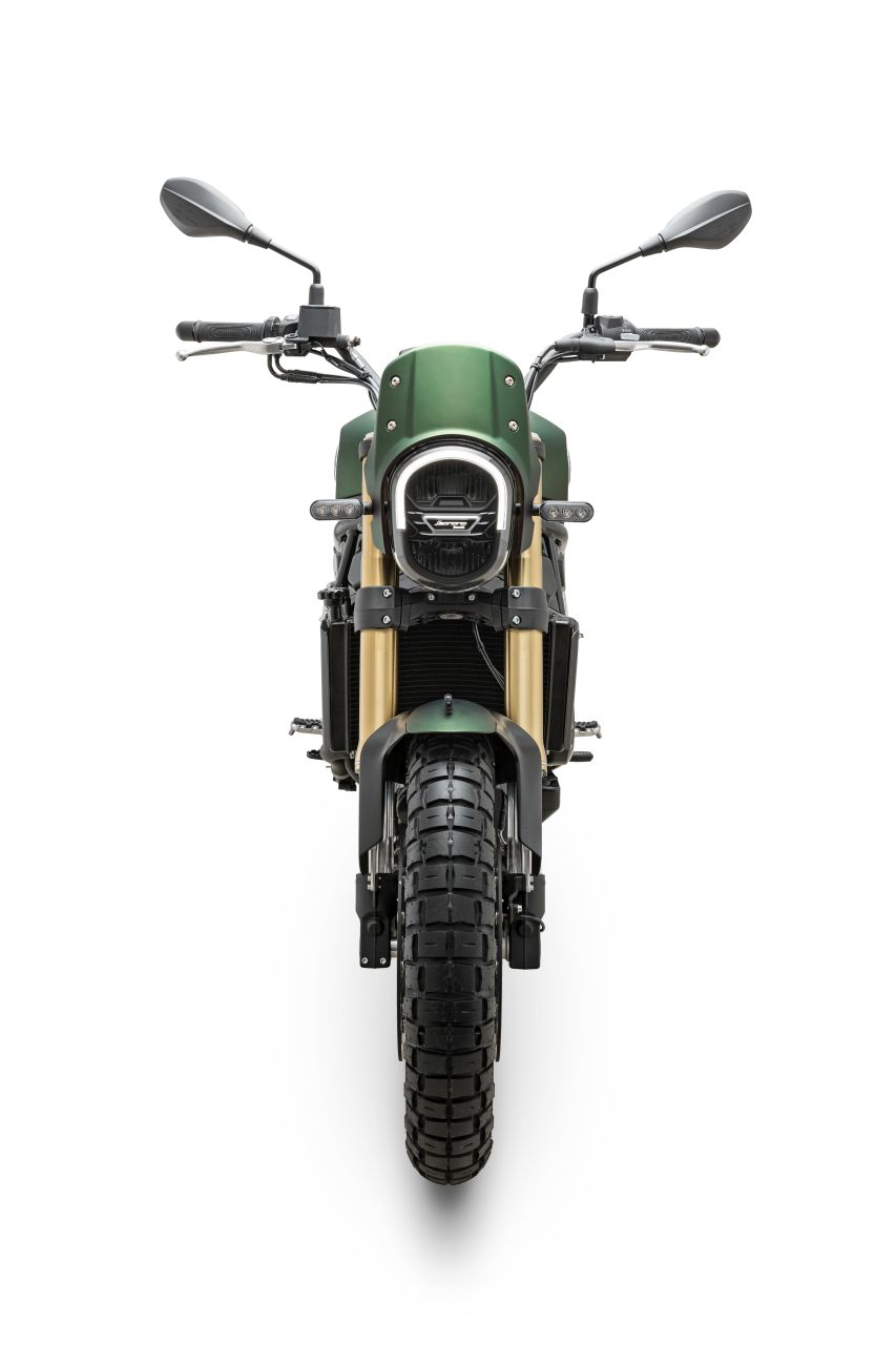 Ra mat Benelli Leoncino 800 Trail the he moi - 3