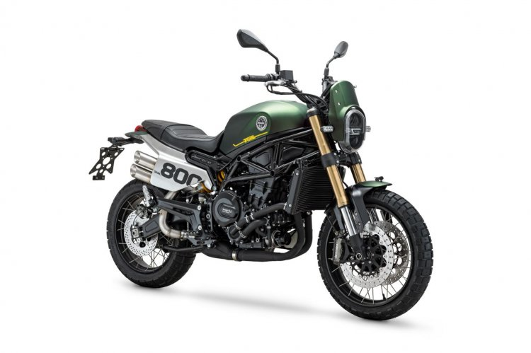 Ra mat Benelli Leoncino 800 Trail the he moi