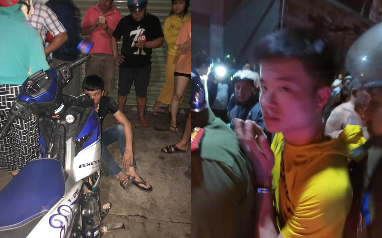 Tom gon thanh cong 2 doi tuong cuop giat chay Exciter 150 tai Dong Nai