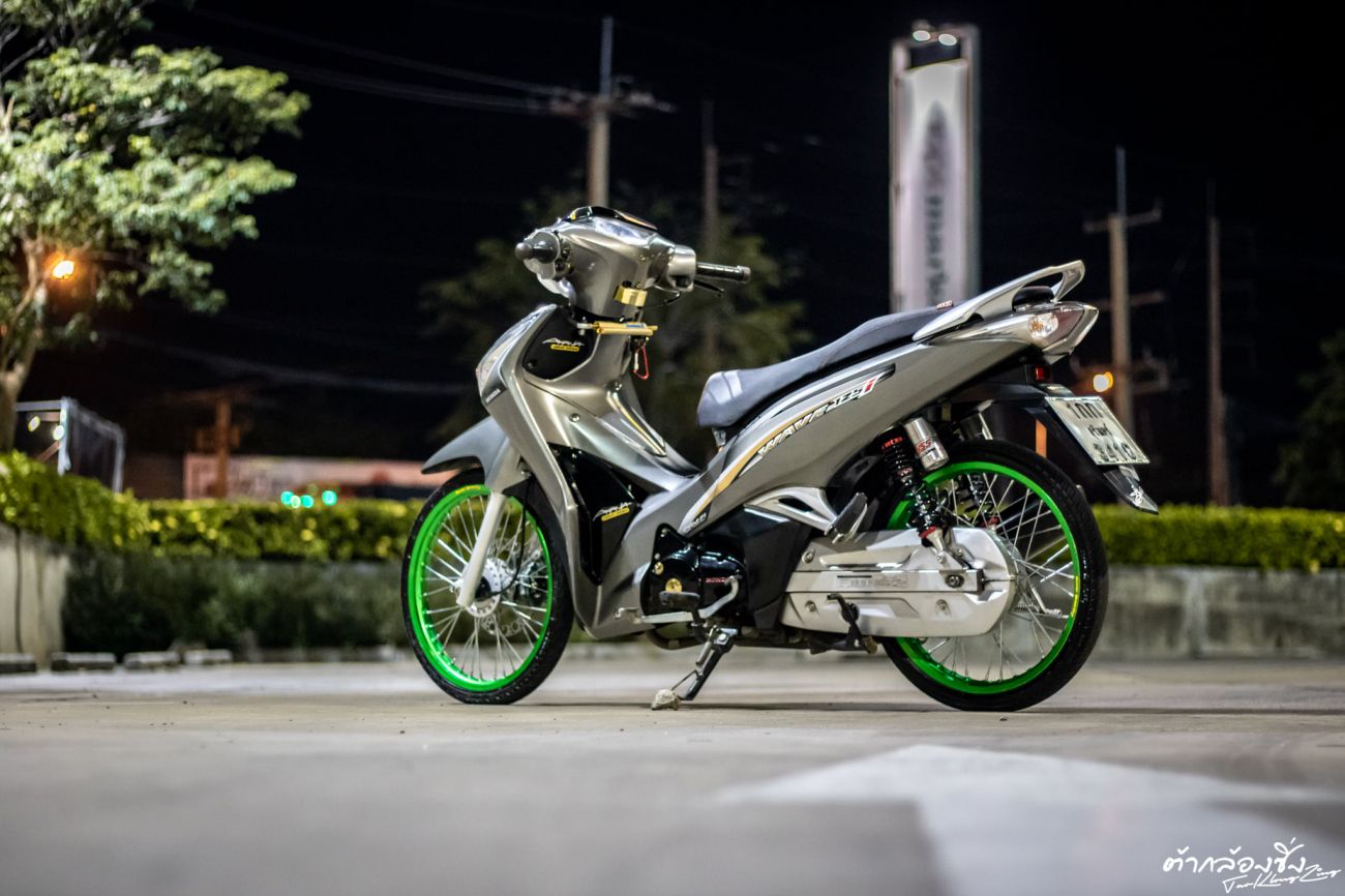 Wave 125 do bien the moi dep uot at cua dan choi Thai - 7
