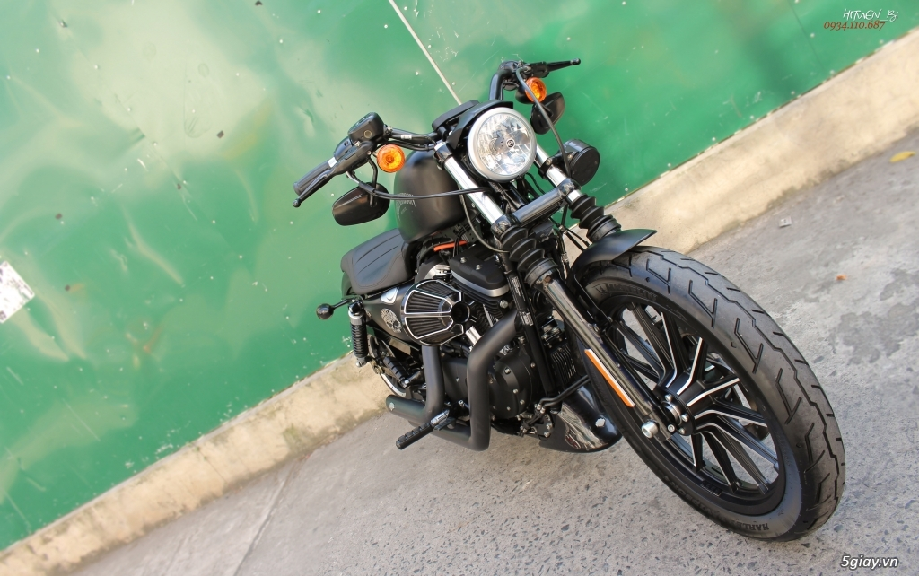 ___ Can Ban ___HARLEY DAVIDSON Iron 883 ABS 2015 Keyless___ - 8