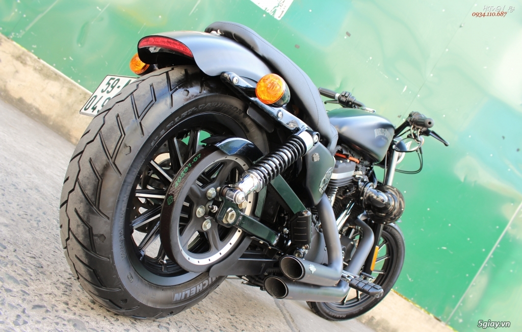 ___ Can Ban ___HARLEY DAVIDSON Iron 883 ABS 2015 Keyless___ - 18