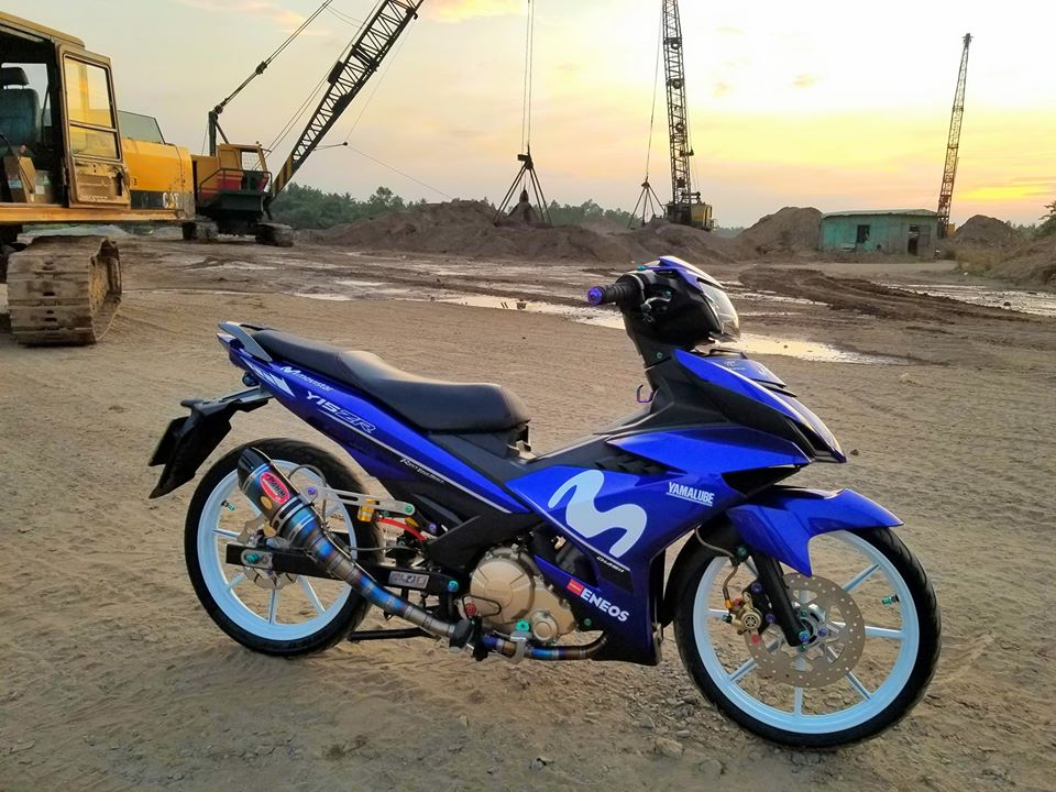 Exciter 150 do day manh me khoe dang trong bo anh dep - 6