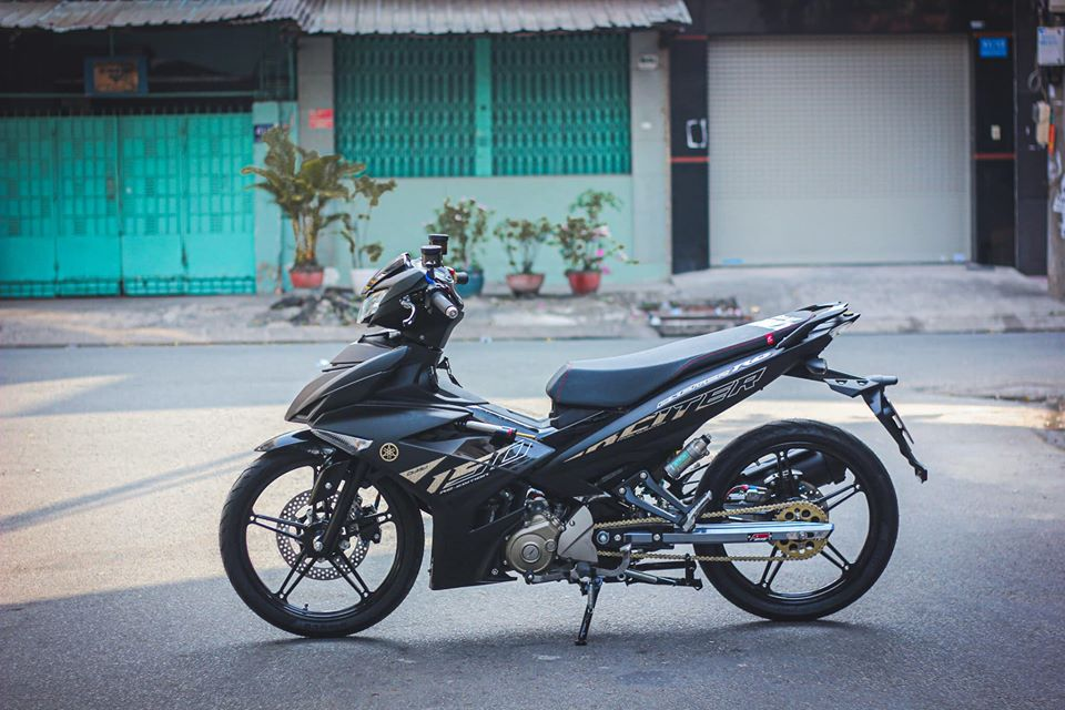 Exciter 150 pha cach voi Style Malaysia Dep Doc Dinh - 3