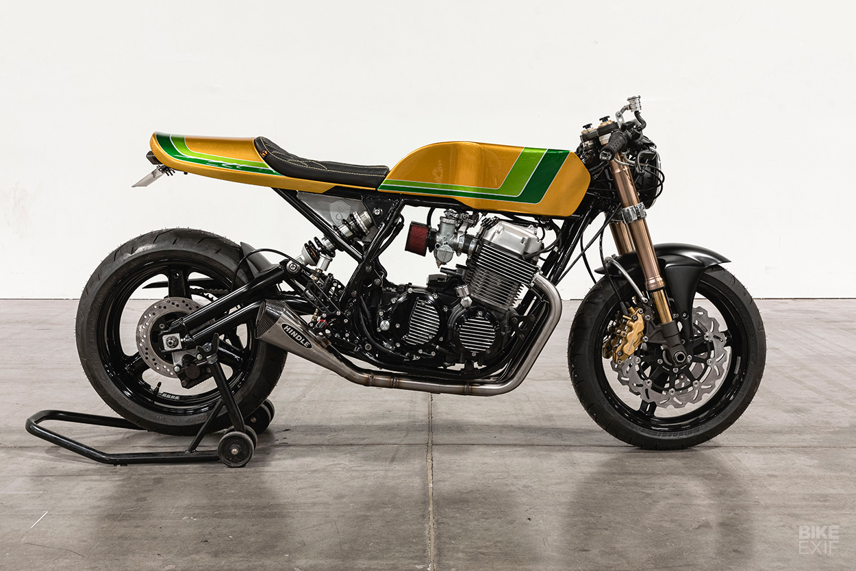 Honda CB750 do an tuong voi chu de Candy Crush - 6