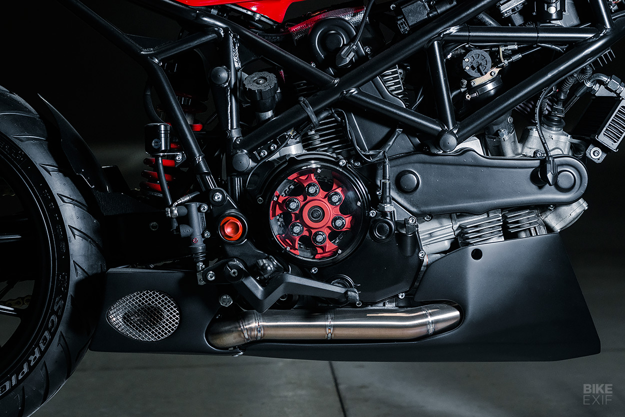Ducati Multistrada do lai theo phong cach Cafe Racer - 8