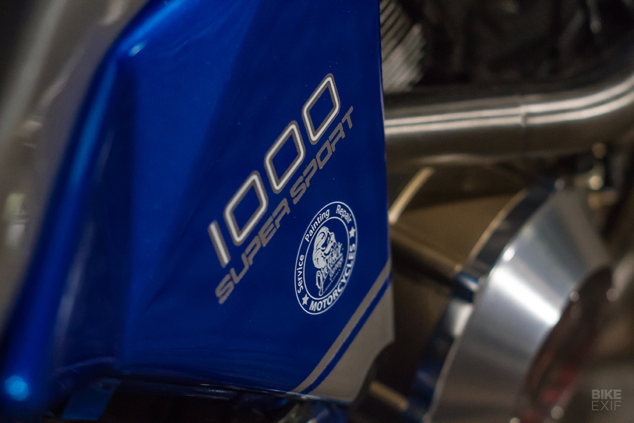 Ducati SS1000 do theo phong cach GT1000 Sportclassic