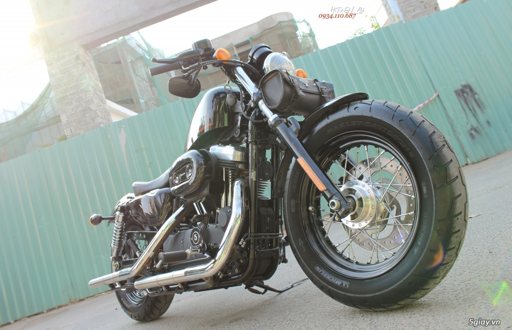 ___ Can Ban ___HARLEY DAVIDSON Forty Eight 1200cc ABS 2014 KEYLESS___