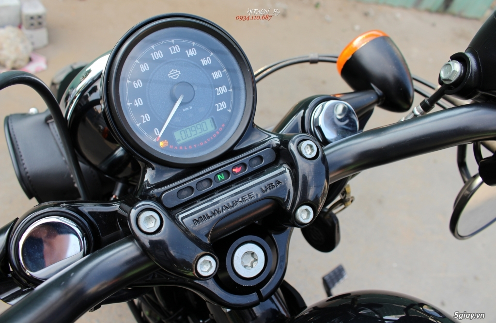 ___ Can Ban ___HARLEY DAVIDSON Forty Eight 1200cc ABS 2014 KEYLESS___ - 3