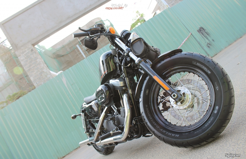 ___ Can Ban ___HARLEY DAVIDSON Forty Eight 1200cc ABS 2014 KEYLESS___ - 13